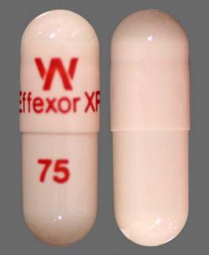 Effexor (Venlafaxine) 75mg capsule