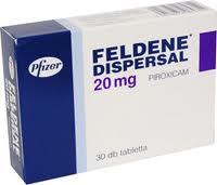 Feldene (Piroxicam) 20mg capsule