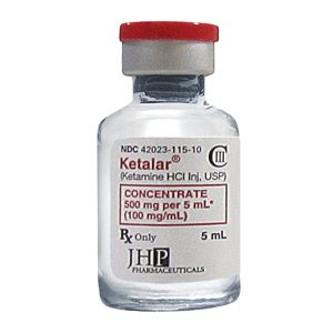 Ketalar (Ketamine HCL) 100mg/ml injection