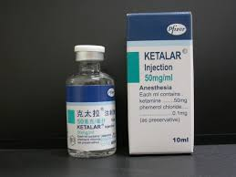 Ketalar Injection 100mg/Ml 10ml