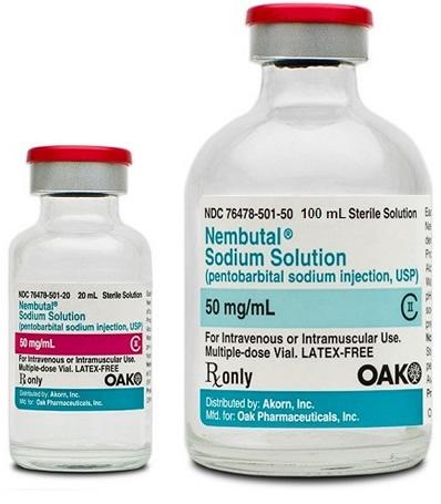 01Nembutal Pentobarbital sodium 50mg/ml