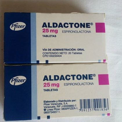 Aldactone pfizer 25mg