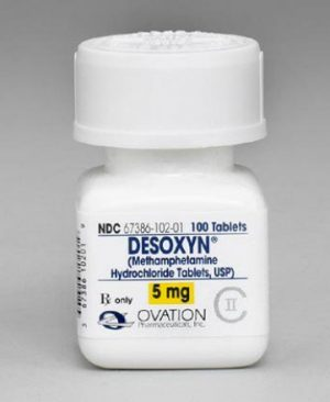 Desoxyn 5mg (Methamphetamine Hcl)