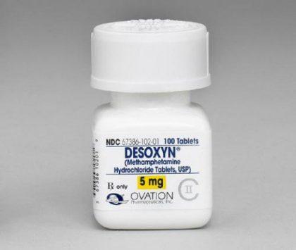 Desoxyn 5mg (Methamphetamine Hcl)