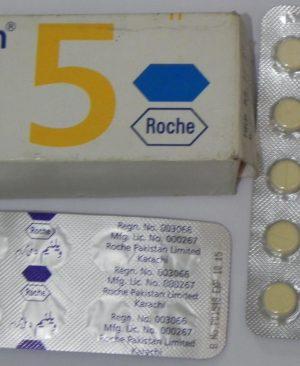 Diazepam valium 5mg